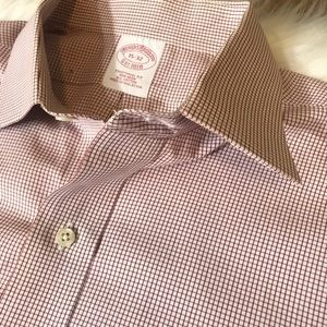Brooks Brothers Traditional Fit 15-32 Button Up